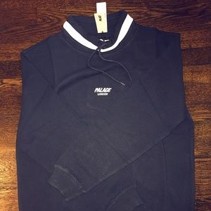 Palace Skateboards High Sweat Blue NEW WITH TAGS